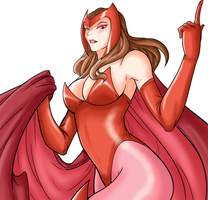 Scarlet Witch by Ray-D-Sauce