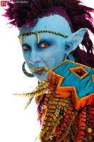 Troll Shaman - Up Close and Personal by Kukuzilla