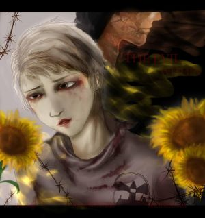 Behind the Flower by H1m3-Ch4n