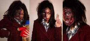 Two Face Inspired make up by TamiTw
