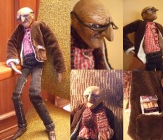 old wannabe hipster man by Cumino