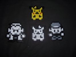 Pokemon Red Sprites by Althalnos