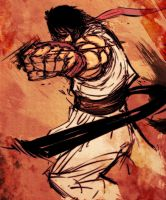 ryu from sf IV by fdp82