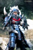 Monster Hunter Akantor by okageo