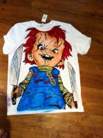 Chucky tribute Tshirt by BoaGrafix