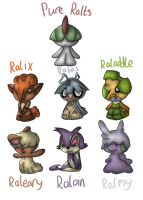 Ralts Crossbreed by pokedragonS8