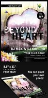 Beyond the Heart Flyer Template by mfcoelho