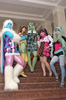Monster High group by CarambolaG