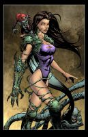 Witchblade by KeuCha/Devgear colored by Dany-Morales