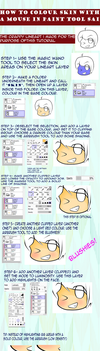 How to Colour Anime Skin in Sai with Mouse by deformeddelights