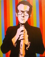 Elvis Costello by chrispjones