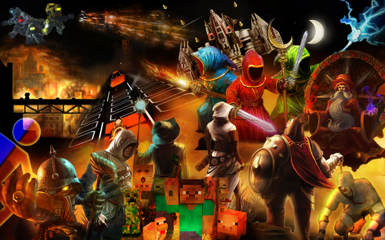 Games Wallpaper by wolforce