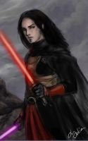 Revan unmasked by DancinFox