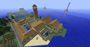 Minecraft Estate Completed by Drohung-DragonNinja