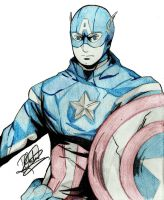 Captain America by RafaelRubik
