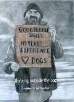 Homeless Ad by redghostman