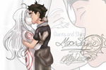 Deadman Wonderland Shiro and Ganta by Moon-Shyne