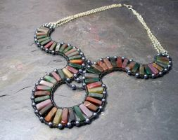 Multicultural necklace by elderarc