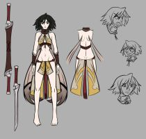 Kida Maraviss Design Sheet by a-bad-idea