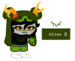 Olive Blooded Troll Adopt [CLOSED] by icem0untain