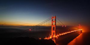 Golden Horizon, Golden Gate by nathanspotts
