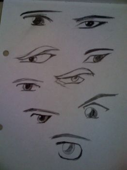 Anime Eyes 2 by anime-cy
