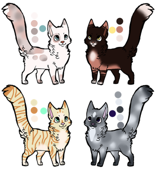 CLOSED Realistic Cat Adopt 5 by StarphishyAdopts