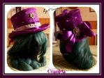 Steampunk top hat Light headed by Cyanida