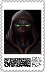 Ermac Postage Stamp by WOLFBLADE111