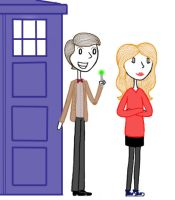 the doctor and amy by EGLemming