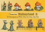 Fantasy Land PNG Stock Pack 2 by Jumpfer-Stock