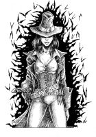 Witch Hunter pin up 2 by OFFO