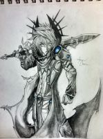 Dark Caster X with Frostbite AQW by chen2812809638