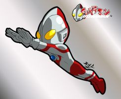 Kid UltraMan 4 by Chizel-Man
