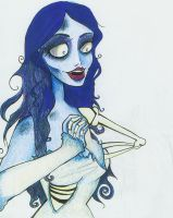 The Corpse Bride is Happy by SilverTallest