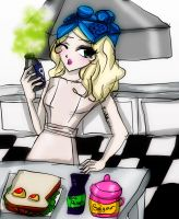 Cooking with Gaga by Danielle-chan