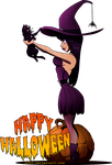 Witchy Halloween by DJ88