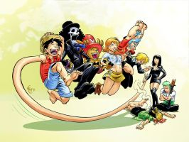 One Piece Gang by MarcelPerez