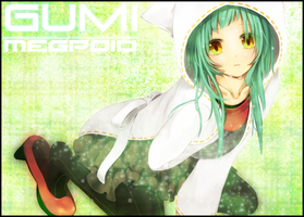 Gumi Megpoid: Card Sleeve by CardOtaku