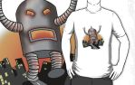 Robot Rampage T by sicklilmonky
