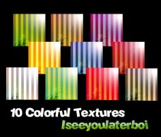 10 Colorful Textures by Iseeyoulaterboi