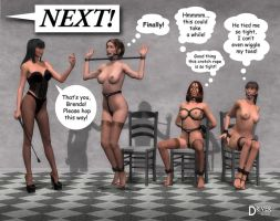 Ladies of dA-Waiting Room by Driver651