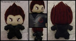 The Mentalist - Red John Plush by StitchedAlchemy