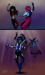 Friend Fusion- Kaynite by ControlledChaotic
