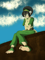 Toph Bei Fong by CommanderG