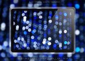 BLUE CRYSTAL LIGHTS by MIATARI