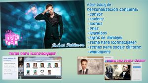 Pack de Personalizacion Robert Pattinson by RoohEditions