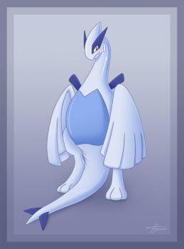 Lugia Exposed by Articuno