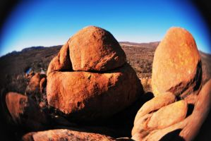 Boulders at the Top by SublimeBudd