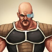 God Dammit Nappa by FonteArt